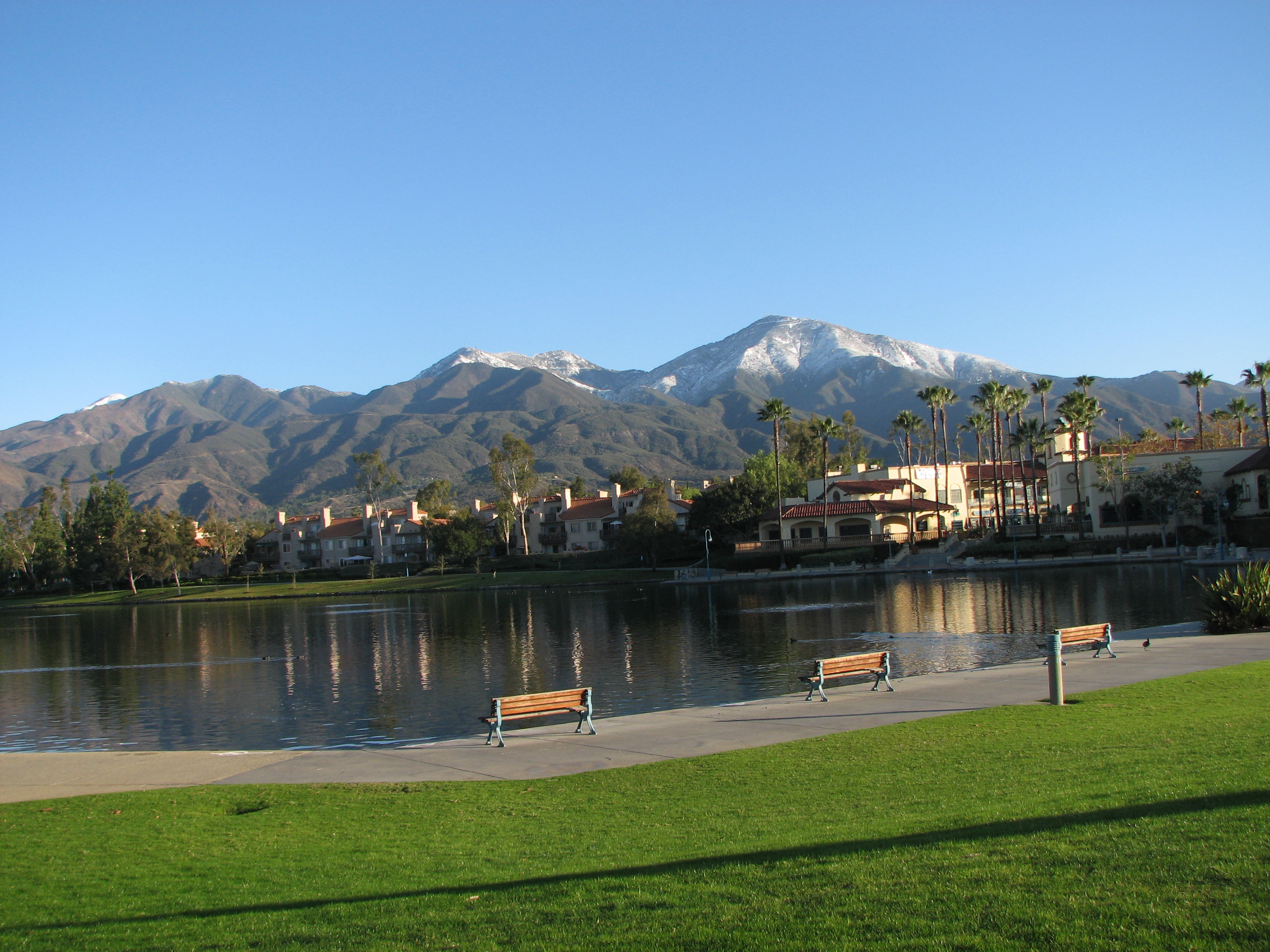 Rancho Santa Margarita Lake Or Lago Santa Margarita